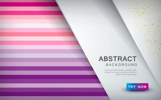 Abstract colored background with overlap layer and color halftone decoration