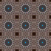 Bordo ornamentale floreale del cerchio astratto di vettore. Disegno del modello di pizzo. Ornamento bianco su sfondo blu. Cornice di bordo ornamentale vettoriale. Può essere utilizzato per banner, web design, carte di nozze e altri