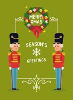 Christmas Holidays poster template