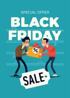 Black Friday-verkoopbannermalplaatje