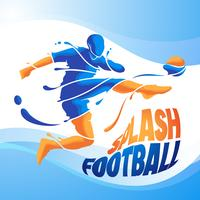 splash de football aqua football