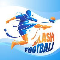 Aqua Fußball Fußball Splash