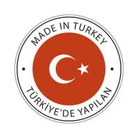 Made in Turkey flag icon.