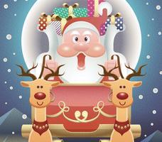 glatt julkort