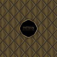 Gold and black pattern background