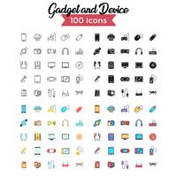 conjunto de iconos de dispositivos vector
