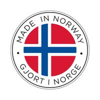Made in Norway flag icon.