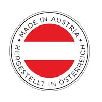Made in Austria flag icon.