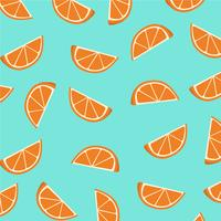 Orange slices pattern.