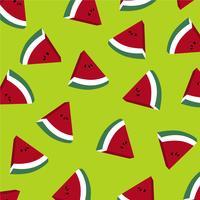 Watermeloen plakjes achtergrond.