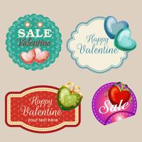 valentine stickers collection