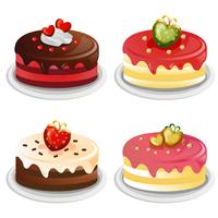 valentine cake collection set