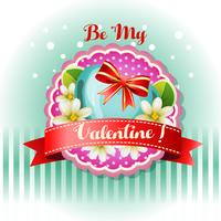 be my valentine card jasmine
