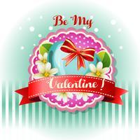 Seien Sie mein Valentinsgrußkartenjasmin