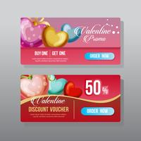 valentine web banner ornate heart