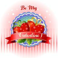 sii il mio cuore con la cartolina di San Valentino