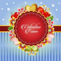 valentine card decorate yellow flower