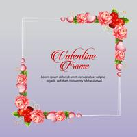 camellia valentine frame