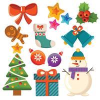 ensemble d'articles de Noël