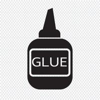 glue icon  symbol sign