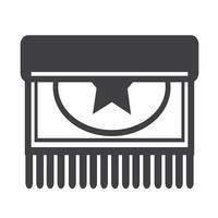Tecknad ikon design Illustration