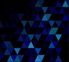 Blue Square Grid Mosaic Background, Creative Design Templates vector