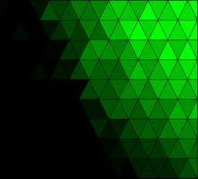 Fondo de mosaico de cuadrícula verde, plantillas de diseño creativo