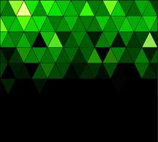 Fond de mosaïque de grille carrée verte, modèles de conception créative