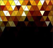 Fond de mosaïque de grille carrée jaune, modèles de conception créative