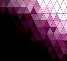Fond de mosaïque grille carrée violet, modèles de conception créative