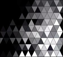 Fond de mosaïque de grille carrée noire, modèles de conception créative