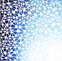 Estilo moderno azul, plantillas de diseño creativo vector