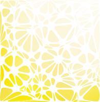 Estilo moderno amarillo, plantillas de diseño creativo vector