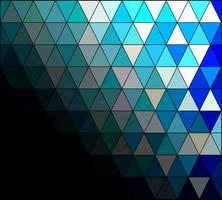 Blue Square Grid Mosaic Background, Creative Design Templates vector