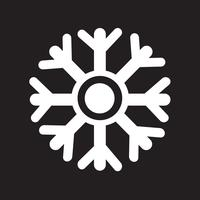 snowflake icon  symbol sign