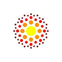 Abstrakter Molekül-Vektor Logo Template Illustration Design. Vektor EPS 10.
