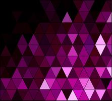 Purple Square Grid Mosaic Background, Creative Design Templates vector