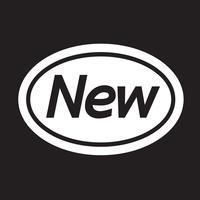 Nuevo icono símbolo de signo