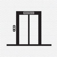 Aufzug Symbol Symbol Zeichen