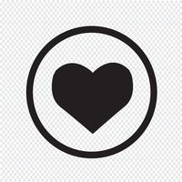 Heart Icon symbol tecken