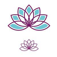 Lotus Flower-Vektor Logo Template Illustration Design. Vektor EPS 10.