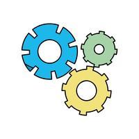 processo de engenharia de indústria de engrenagem de cor