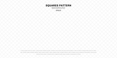 Abstract geometric white seamless squares pattern background and texture.