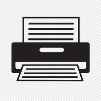 Printer Icon  symbol sign