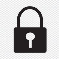 Lock Icon  symbol sign