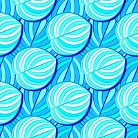 Tropical, Striped, Animal Motif. Seamless Line Pattern And The Texture Of The Cod. Modern Summer Flower, Leaf On The Brush Abstract Shape. Tropical Vector