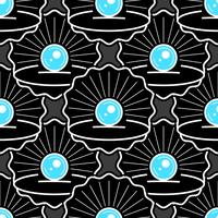 Cute Skin Seamless Pattern With Pearl Ready For Your Design, Greeting Card,