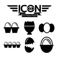 Eget ikon symbol tecken