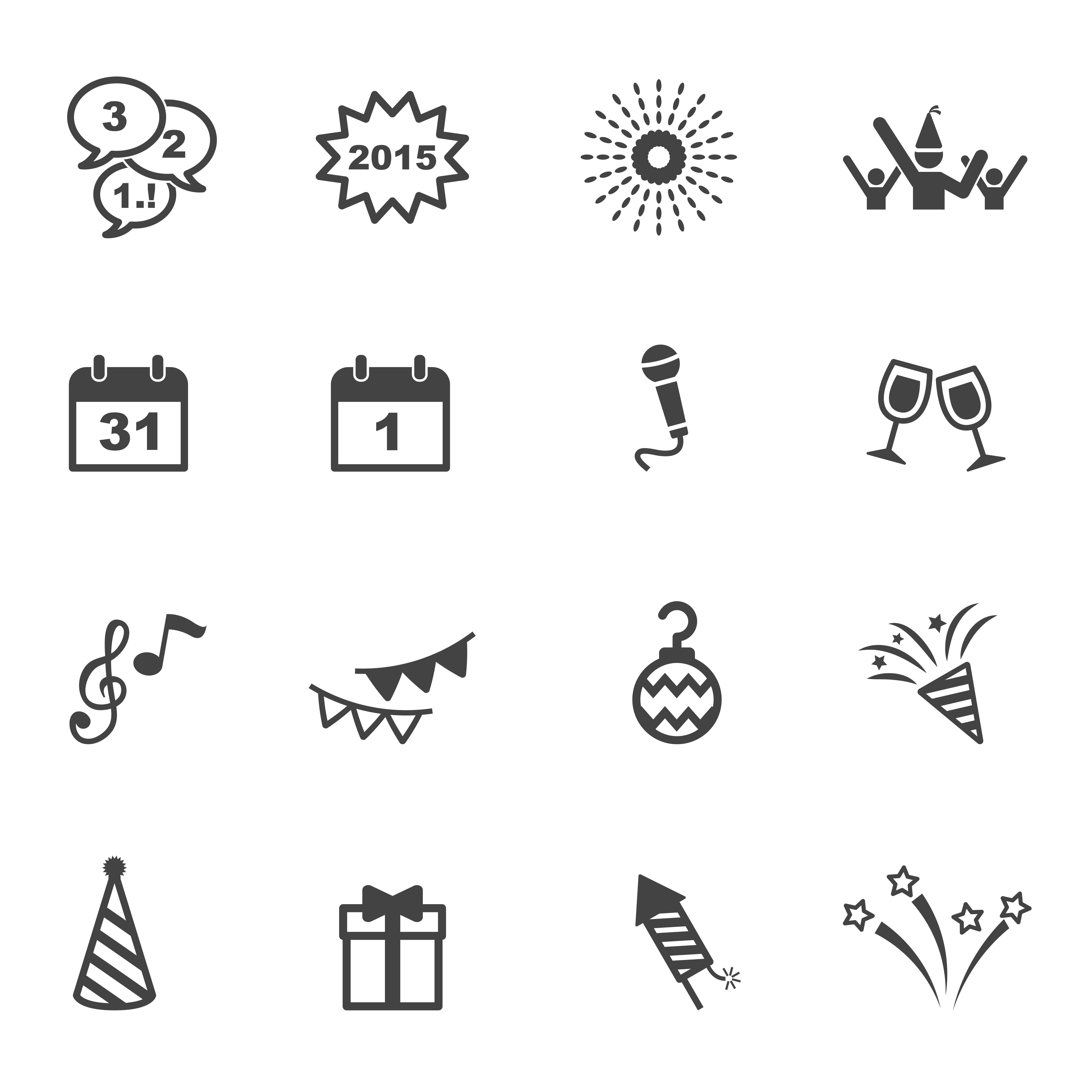happy new year icons download free vectors clipart graphics vector art vecteezy