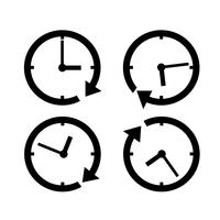 Clock icon  symbol sign